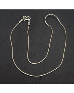 SMOOTH  SILVER CHAIN For MEN