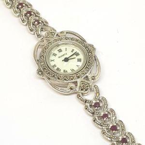 Silver Trendy Watch Marca