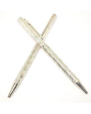 Silver pen engraving ( single)