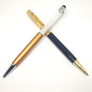 Silver pen golden silver