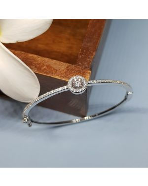 SILVER MIDDLE SOLITAIRE KADA