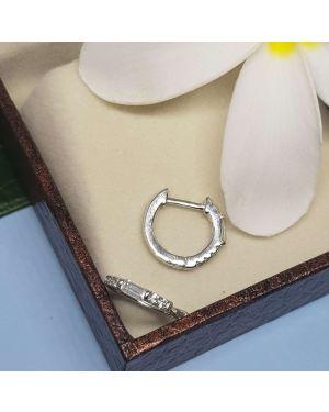 Silver 925 Small Hoop Bali Pair