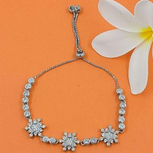 SILVER STAR ADJUSTABLE BRACELET