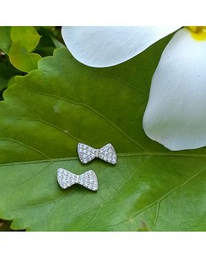 Silver Bow Stone Tops