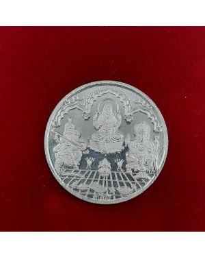 Silver 5 gm Trimurti Coin