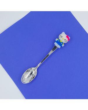 Silver Kids Cat Spoon