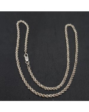 SILVER ROUNDED HEAVY CHAIN