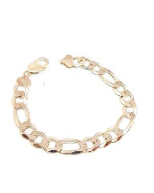 Silver heavy bracelet