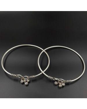 Silver bells Leg Kada