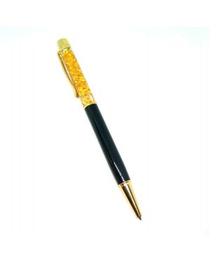 Silver black golden gold foil pen
