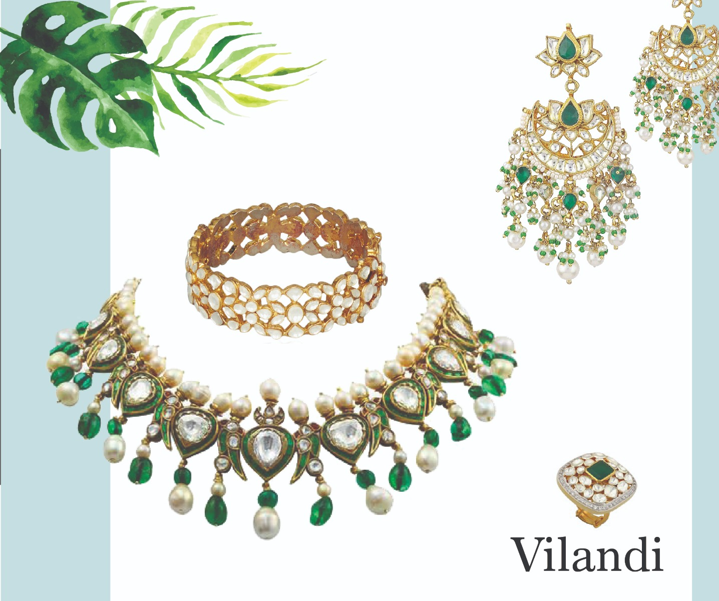 Vilandi Kundan Collection